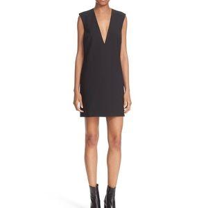 Elizabeth + James Andie V Neck Shift Dress 4 Black